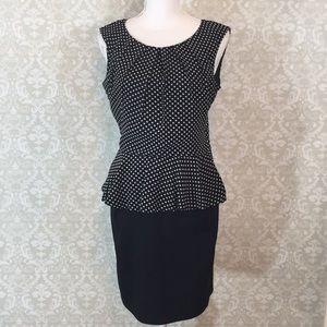 {Enfocus Studio}Size 6 Peplum Top Dress